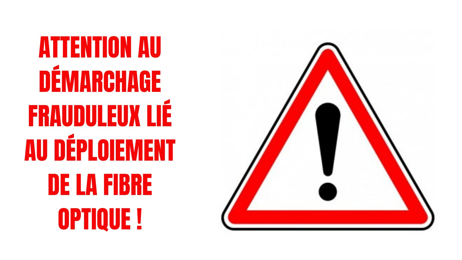 Attention au démarchage abusif !